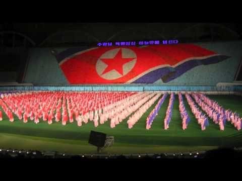 N. Korea propaganda - who needs LCD screens when you have minions?