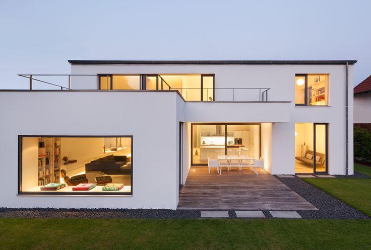 Moderne häuser grundriss neubau  Neubau WH M (2012) | Häuser | Pinterest | Neubau, Architekten und ...