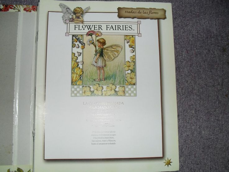 Hadas De Las Flores.flower Fairies.cicely M Barker -