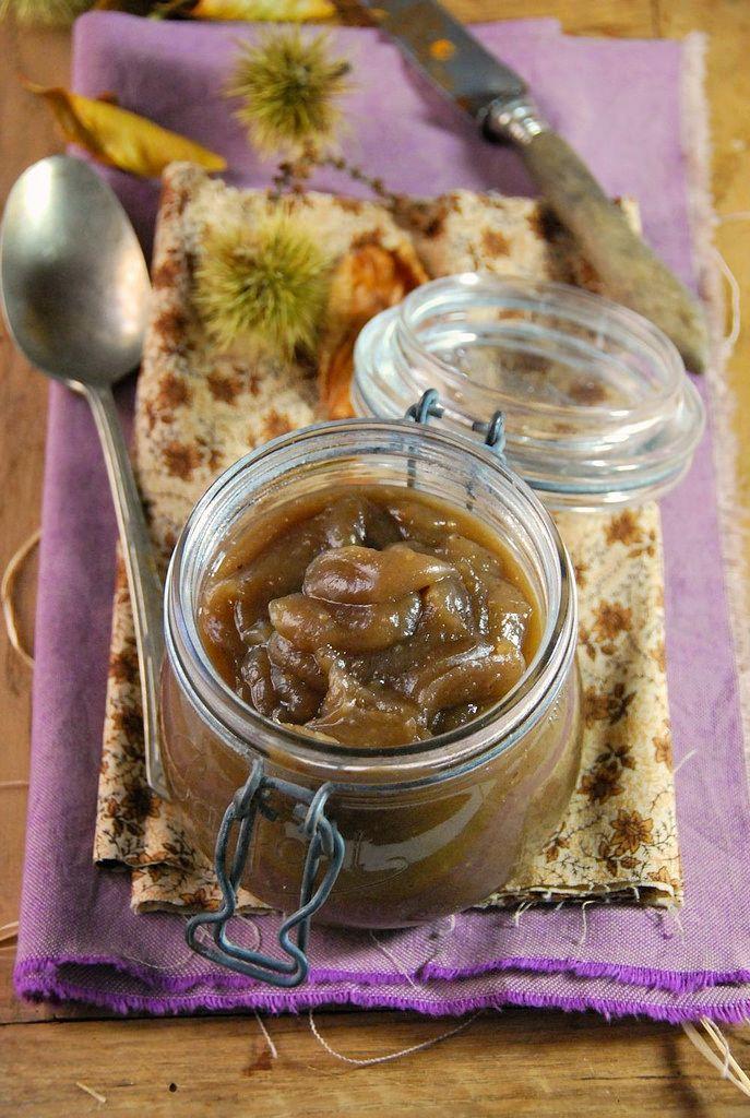 Crème de marron maison à la vanille Recette végétale et sans gluten