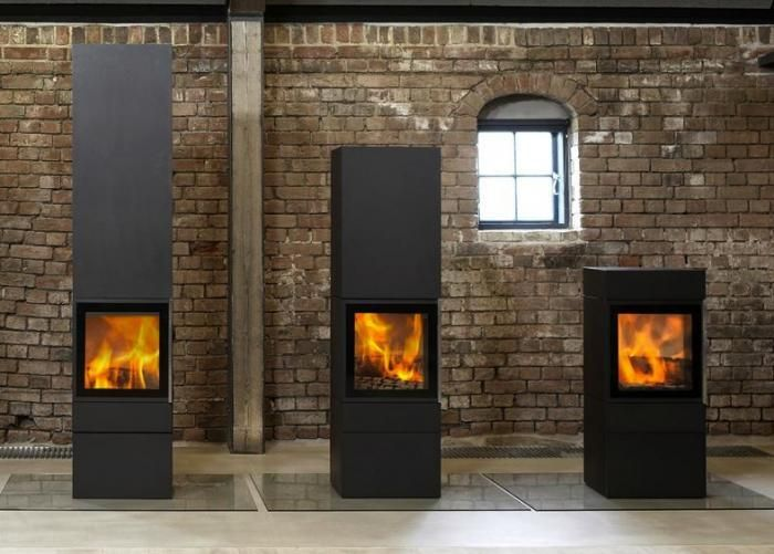 Wittus Cubic Wood Stoves are the work of Danish architect Anders Nørgaard.