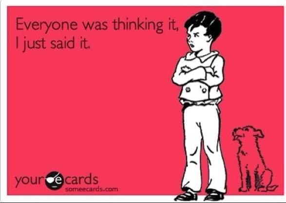 hahaha. This is me for sure!Truths Hurts, Laugh, Life, Quotes, Mouth, Funny Stuff, Kids, Ecards, True Stories