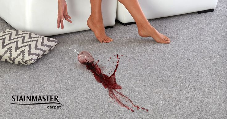 When it comes to spills, timing is everything. The sooner you can get the liquid off the fibre's surface, the less time it has to penetrate and leave a stain. Remember, blot the spot, don't rub or scrub. #carpet #cleaning #STAINMASTER