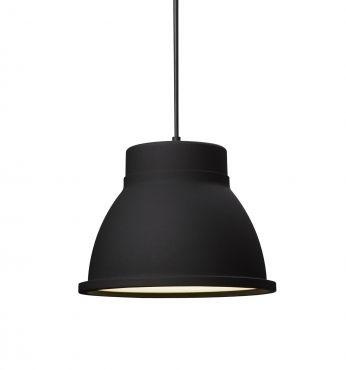Studio taklampe svart