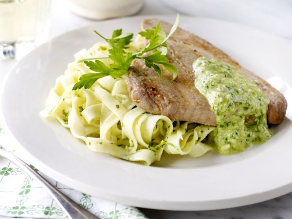 Zwaardvis met salsa verde - Libelle Lekker!
