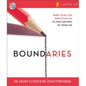 Boundaries by Dr. Henry Cloud and Dr. John Townsend --- This book