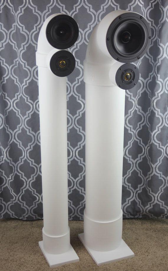 Custom enceintes PVC tuyau dégout