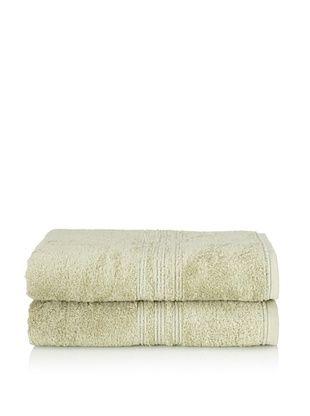 65% OFF Chortex 2-Piece Imperial Bath Sheet Set, Sage