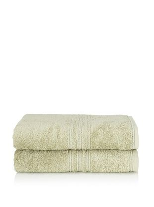 65% OFF Chortex 2-Piece Imperial Bath Sheet Set, Sage