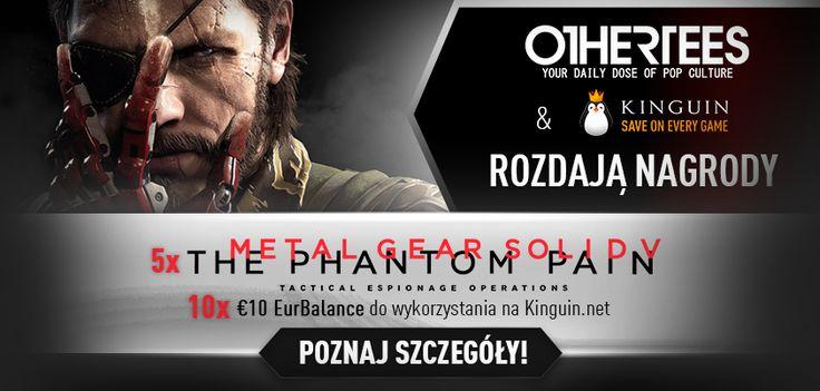 """Wygraj grę """"Metal Gear Solid"""" na PC lub zniżkę o równowartości 10€ na zakupy na Kinguin.net!   Konkurs trwa 8-15 sierpnia 2016."""