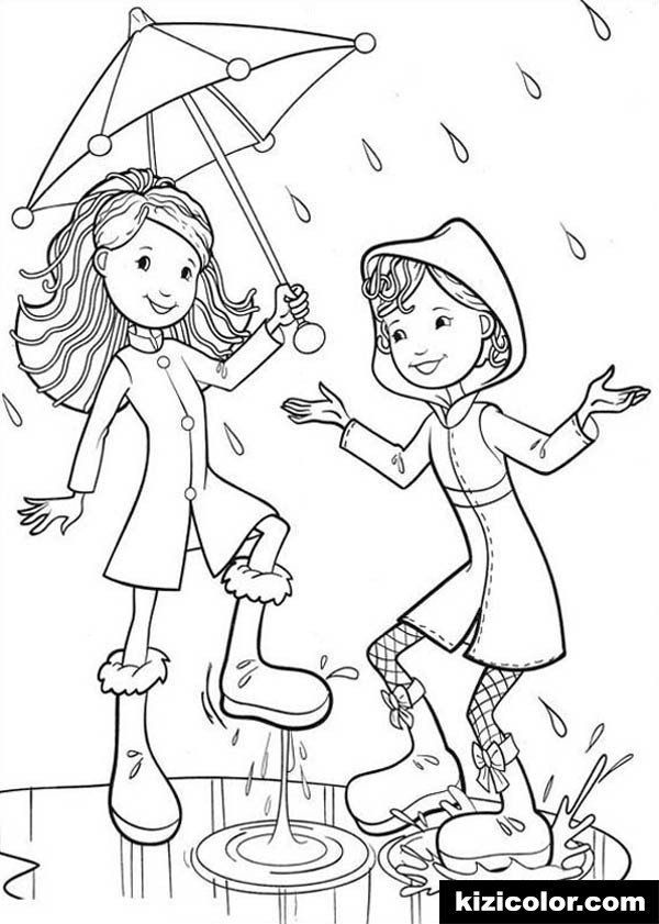 Rainy Day Coloring Sheets Dÿz Groovy Girls Happy Raining Day Pages Kizi Free 2020 Snowman Coloring Pages Free Coloring Sheets Coloring Pages