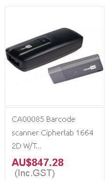 Buy Barcode Scanner at discount rates from Quick POS in Australia