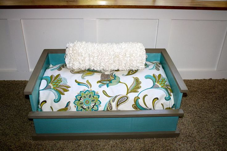 17 best images about diy dog beds on pinterest creative for Homemade cat bed