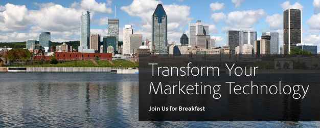 Transform Your Marketing Technology | Adobe Marketing Cloud Breakfast Session for Companies