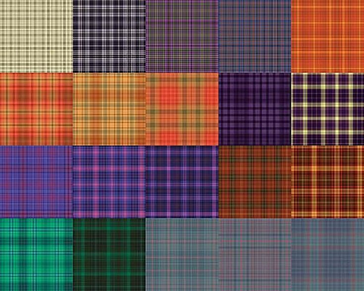 Free Plaid Patterns for Photoshop by Shelby Kate Schmitz: Plaid Patterns Set 2