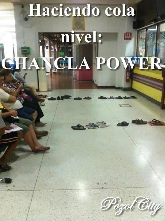 chancla power