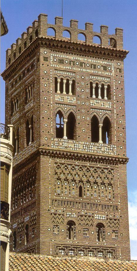 Torre de Sansalvador. Arte mudéjar. Teruel.