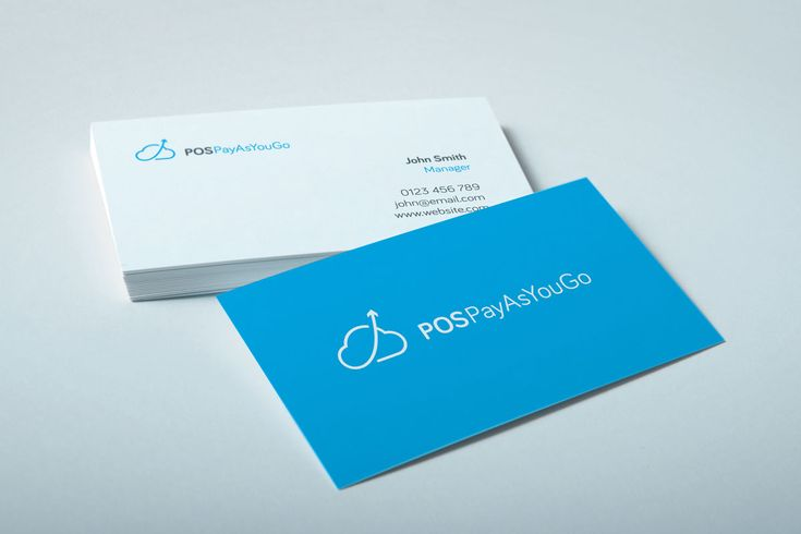 software company business card design services in belfast
