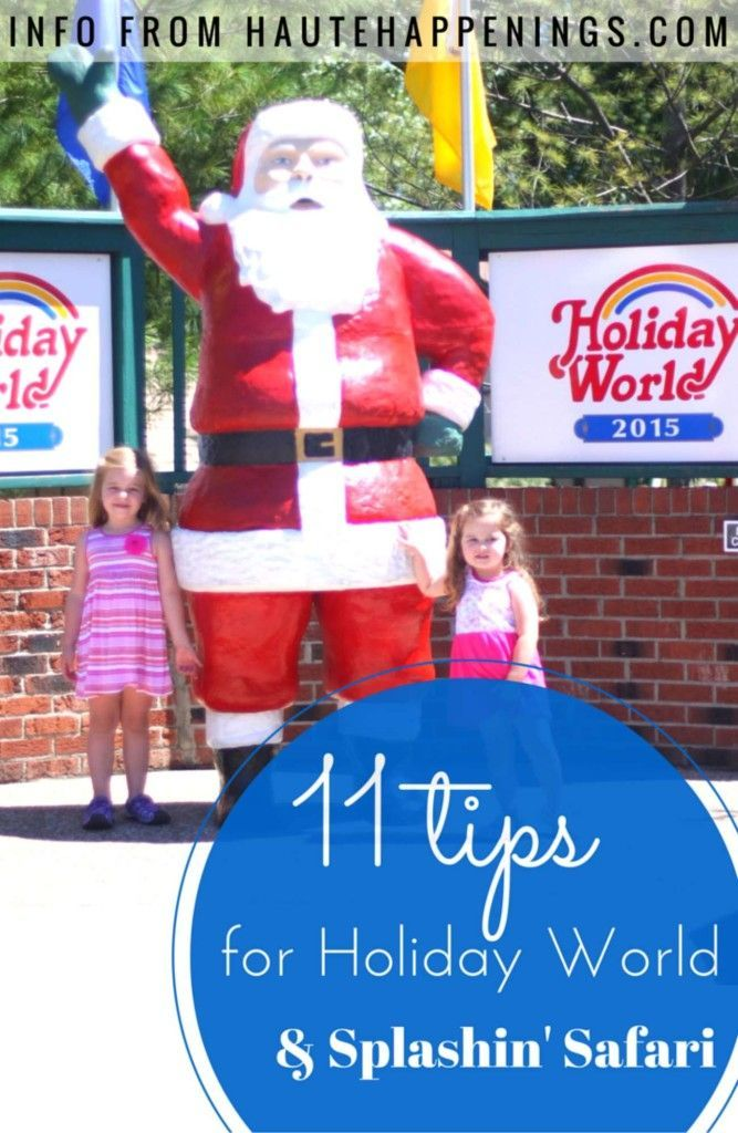 Visit one of the top amusement parks in the country! 11 Tips for Holiday World and Splashin' Safari with kids - Indiana