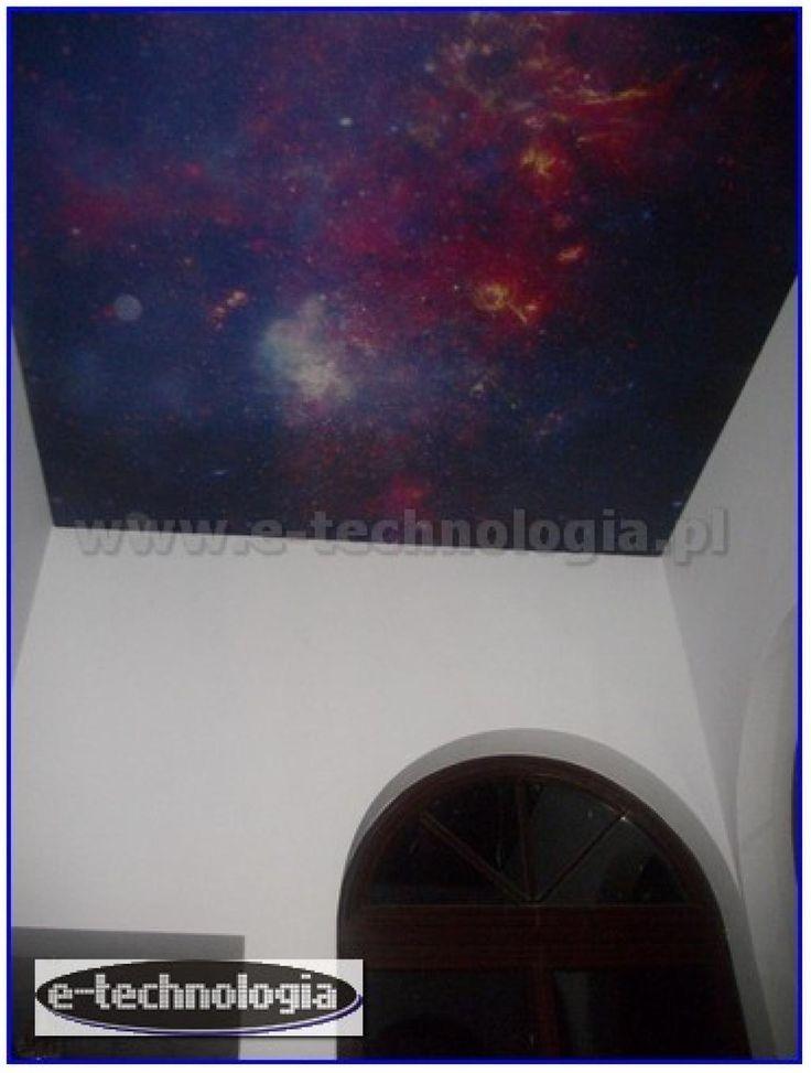 oświetlenie korytarza sufit - sufity podwieszane galeria - sufity napinane galeria e-technologia