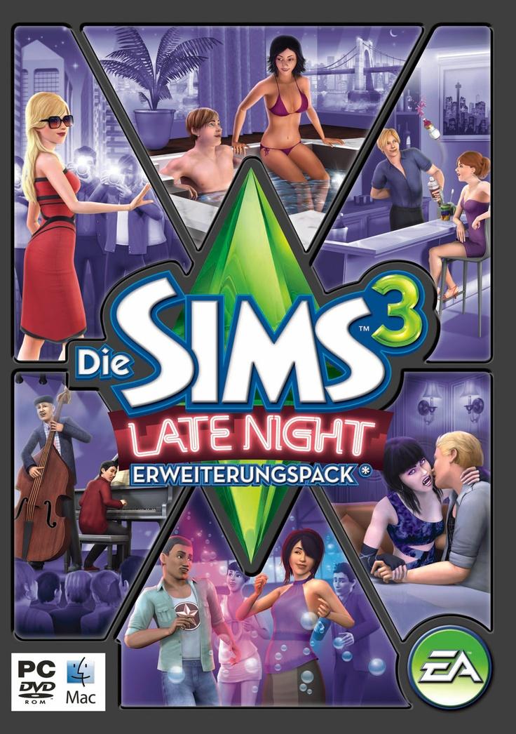 SimFans.de | Die Sims 3 Late Night Erweiterungspack