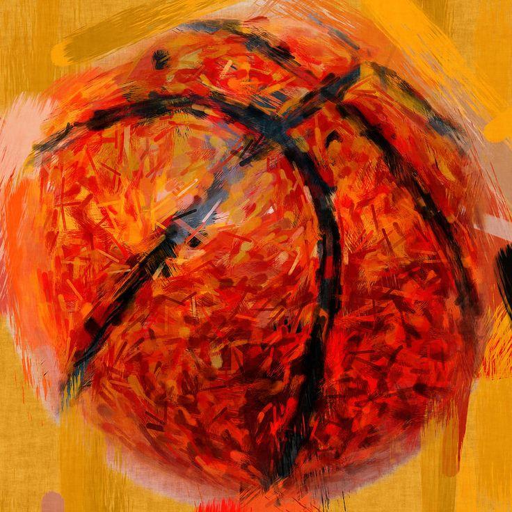 Abstract Basketball Photograph  - Abstract Basketball Fine Art Print