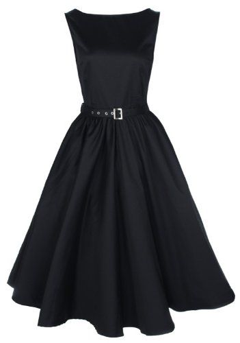 Lindy Bop Vintage 50S Audrey Hepburn Style Swing Party Rockabilly Evening Dress
