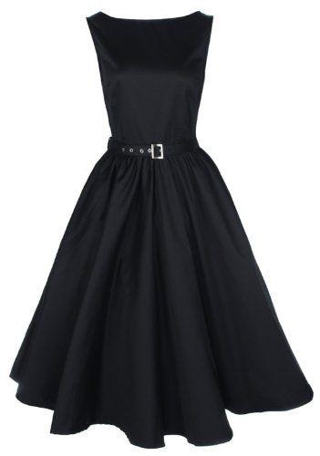 50s Audrey Hepburn style dress