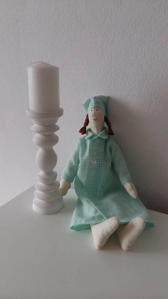 Sewing Tilda doll