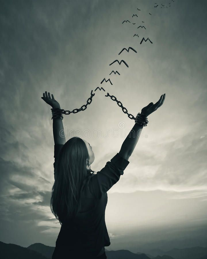 Chains and freedom. A woman breaks her chains as the links turn into freedom bir , #affiliate, #woman,  #br… | Freedom photography, Freedom pictures, Freedom artwork
