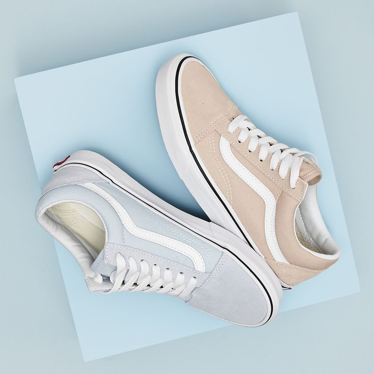 Pick your favourite #pastel  #Shop the latest @vans_europe straight from our bio! #newin #vans #oldskool #liveyourbestlife