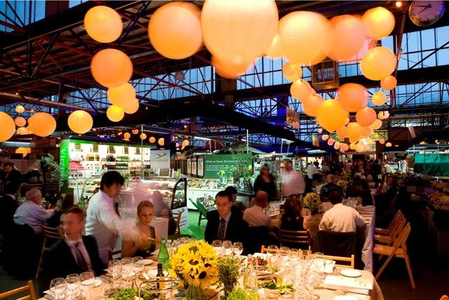 Melbourne Food and Wine Festival Galla Dinner at Prahran Market 2010