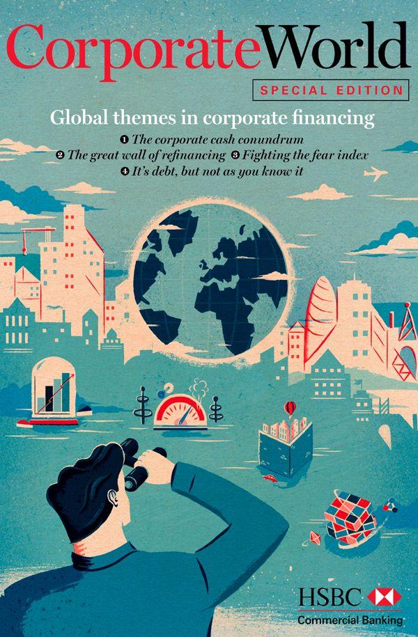 Adam Hancher for HSBC's 'Corporate World'