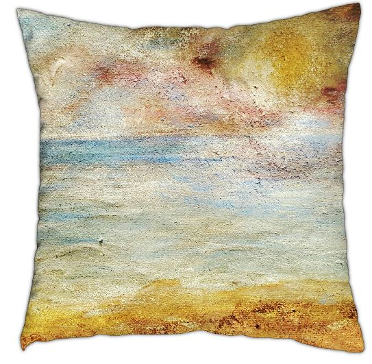 Sandy shore cushion 40cm x 40cm  £40.00