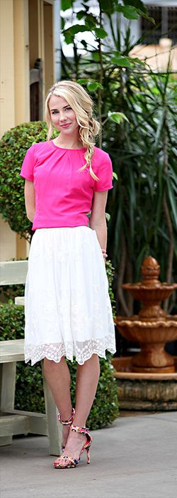 Lace A-Line Skirt [MSS1101] - $44.99 : Mikarose Boutique, Reinventing Modesty