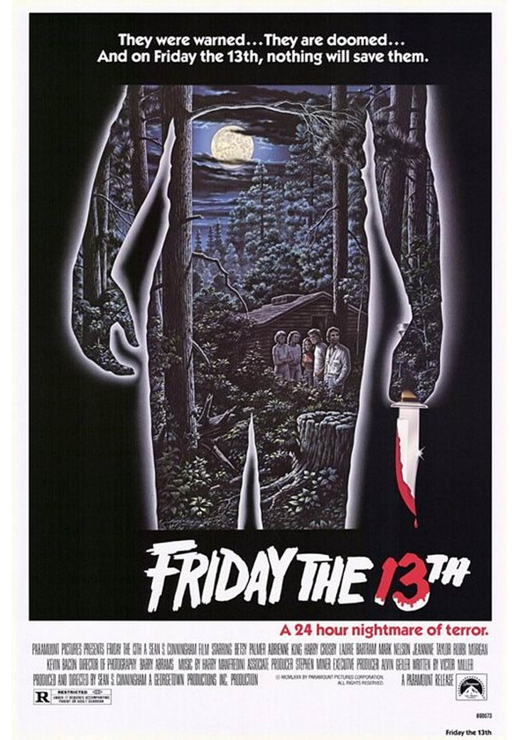 Friday The 13th Poster 1980 | Graphics Research | Pinterest