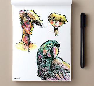 alexialougiaki: Some sketches