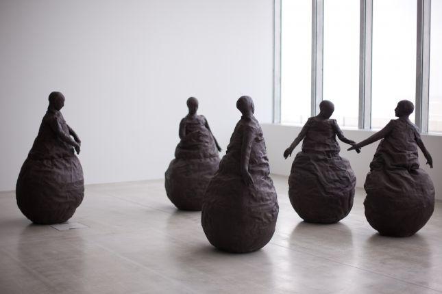 Juan Munoz Conversation Piece III, 2001 | Turner Contemporary | Feb 2014