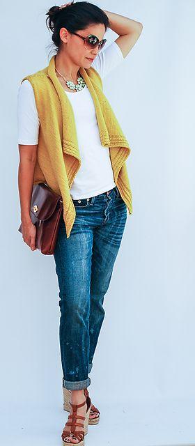 Ravelry: Convince Me Vest pattern by Bebe Thomas