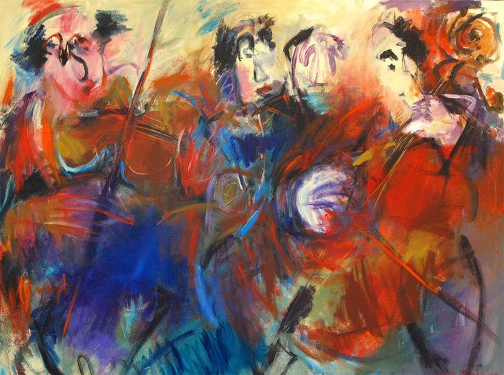 Parnell Gallery artist Sue Schaare Fine Tuning http://www.parnellgallery.co.nz/artworks/artist-sue-schaare/fine-tuning/