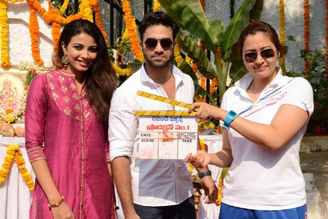Navdeep, Kavya Shetty and Jwala Gutta @ Legend Pictures Movie Launch