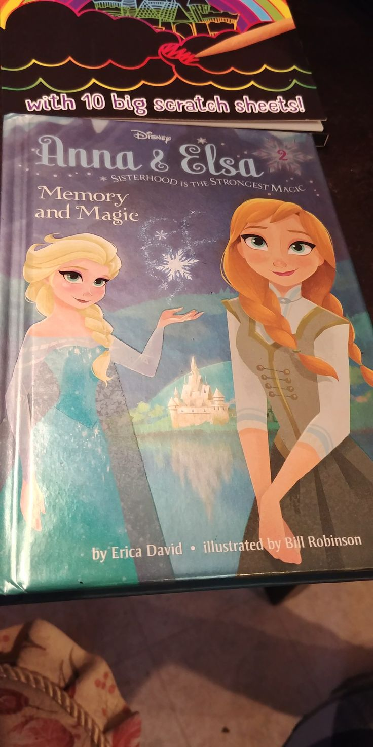 My Brand New Disney's Frozen Anna & Elsa Memory and Magic That I Got Today From Scholastic Book Order!😃😄😊☺😉😍😳😘❤💜💙💚💛💗💘💞💖💕💓💌💋💎💍👣💝🎍🌈
