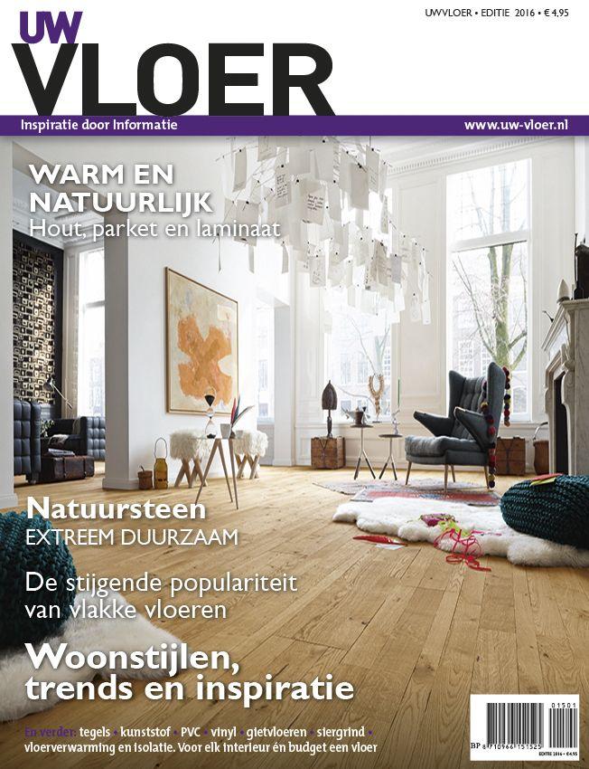 Het nieuwe Magazine UW Vloer 2015 - 2016 #verbouwen #verhuizen #vloeren