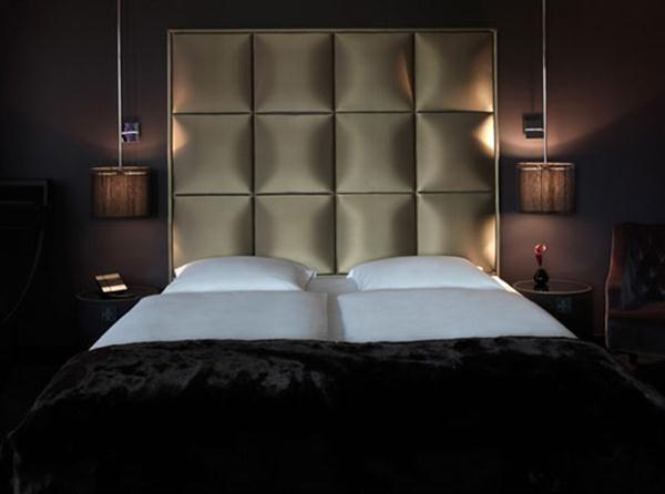 luxurious bedroom decorating ideas | ... Luxury and Elegant Hotel With Dark Color Interior Design in Frankfurt
