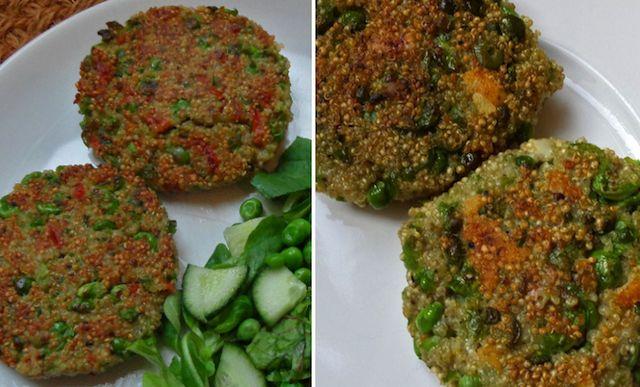zelf gezonde groenteburgers maken! Zie recept na de klik!