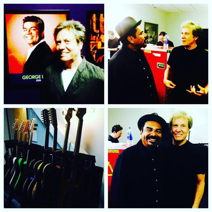 Robert Lamm with comedian, George Lopez.