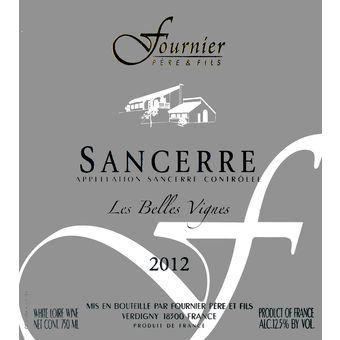 19- Cepa: Sauvignon Blanc - Fournier Sancerre - Loire/Franca - 2012