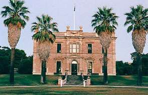 Martindale Hall, Clare Valley, the school in 'Picnic at Hanging Rock'.