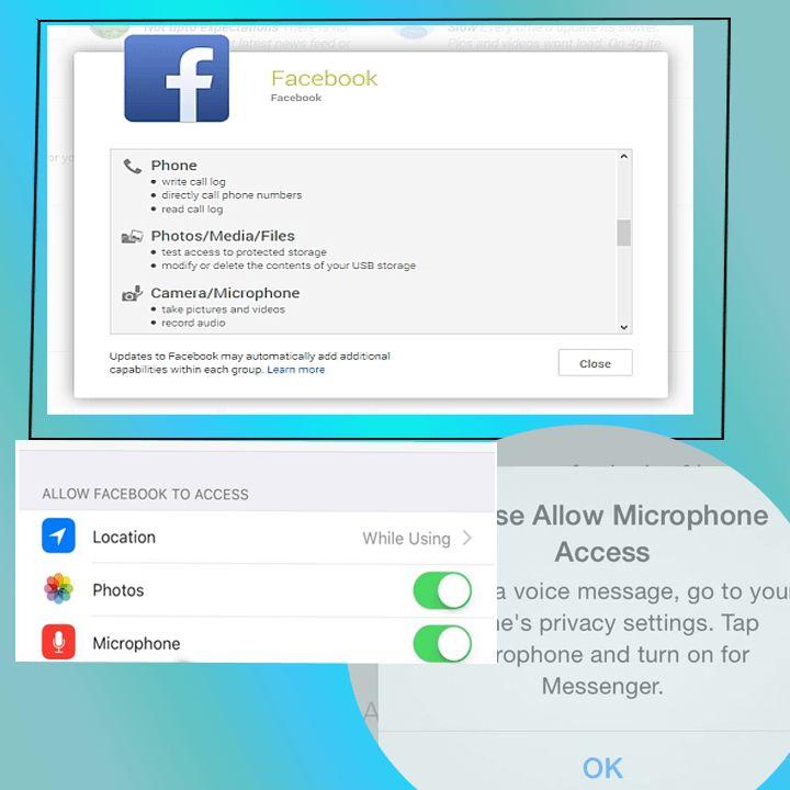 FACEBOOK DENIES LISTENING CONVERSATIONS THROUGH PHONE MICROPHONE https://socioblend.com/blog/2016/06/08/facebook-denies-listening-conversations-through-phone-microphone/