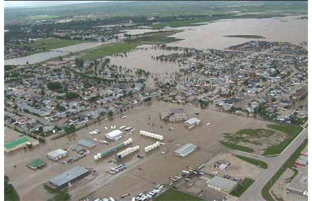 RCMP released these aerial images of High River, taken on June 22, 2013. Mounties continue going door-to-door in the area to check on residents. Photograph by: Supplied, RCMP